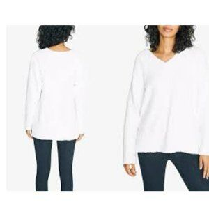 SANCTUARY V-NECK Women's Teddy Sweater